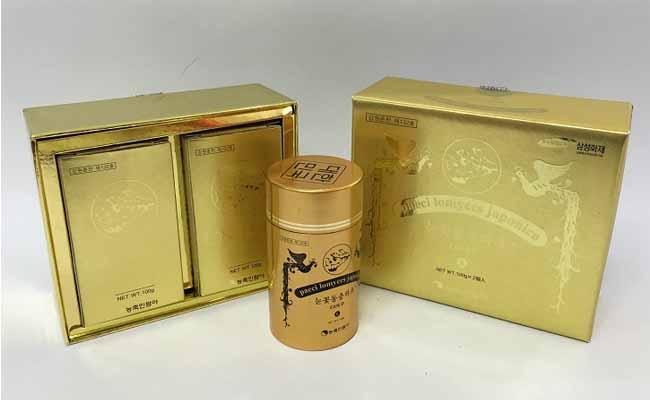 Đông trùng hạ thảo dạng viên được bày bán nhiều trên thị trường