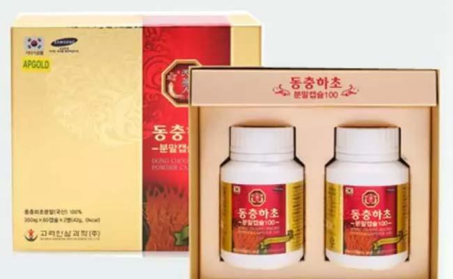 Viên uống Đông trùng hạ thảo Bio Apgold của Hàn Quốc