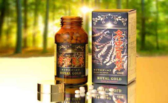 Viên uống ĐTHT Tohchukasou Royal Gold