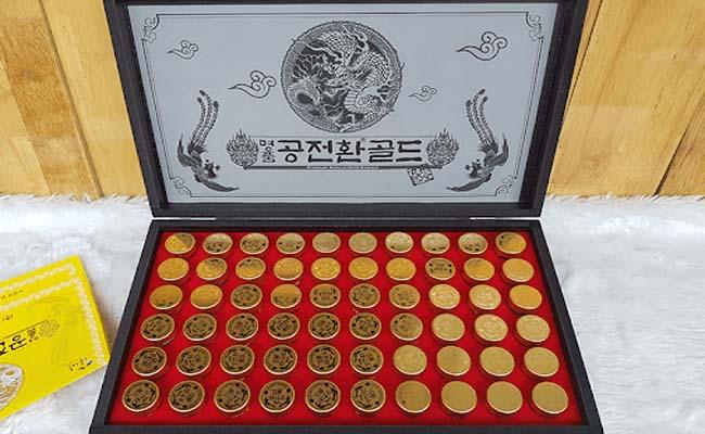Sản phẩm ĐTHT dạng viên, hộp gỗ của Hàn được nhiều người yêu thích