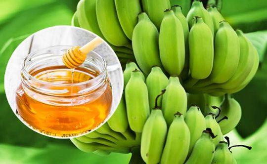 Chữa đau dạ dày bằng mật ong và chuối xanh