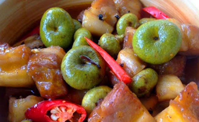 Sung kho thịt hỗ trợ điều trị bệnh dạ dày