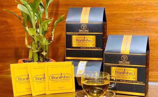 Sản phẩm trà ĐTHT Banikha