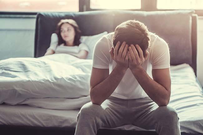Nam giới thường ngại quan hệ tình dục khi bị xuất tinh sớm