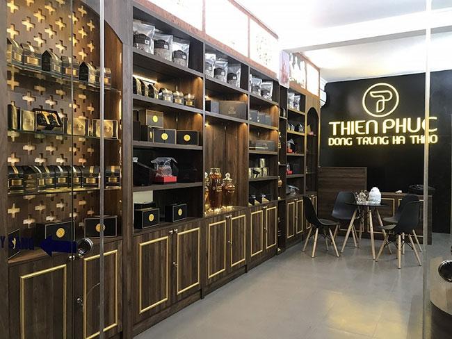 Showroom Đông trùng hạ thảo Thiên Phúc đã có mặt một số tỉnh thành nhằm phục vụ nhu cầu mua sản phẩm của khách hàng trên toàn quốc