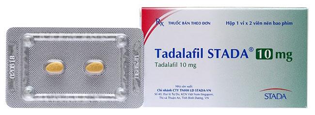 Tadalafil - Thuốc điều trị tình trạng yếu sinh lý ở nam giới