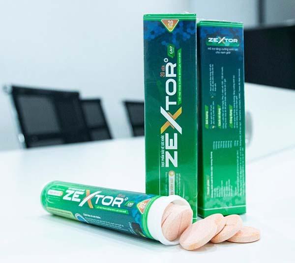 Viên sủi ZEXTOR - Sản phẩm điều trị xuất tinh sớm hiệu quả