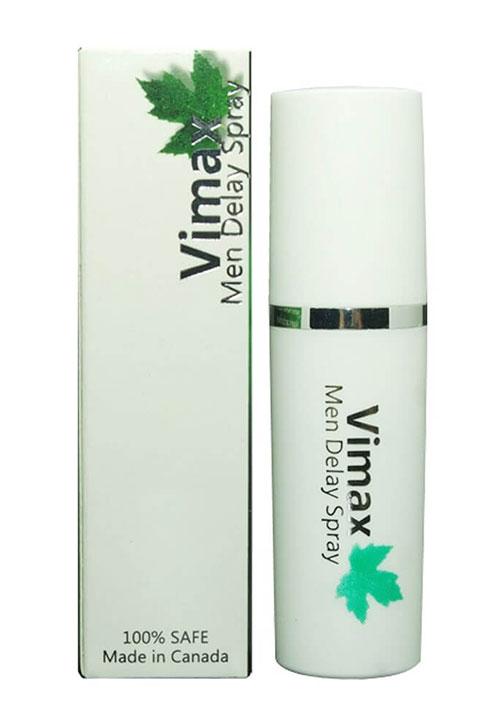 Vimax - Thuốc xịt kéo dài thời gian xuất tinh của nam giới