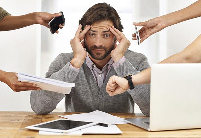 Áp lực công việc ảnh là nguyên nhân hàng đầu gây yếu sinh lý ở nam giới