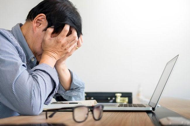 Áp lực công việc gây ra các rối loạn chuyển hóa