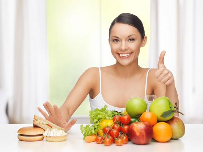 Chế độ ăn uống hợp lý giúp cải thiện sức khỏe tốt