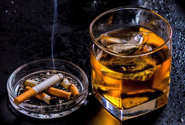 Để giảm béo hiệu quả cần hạn chế tối đa rượu bia, thuốc lá