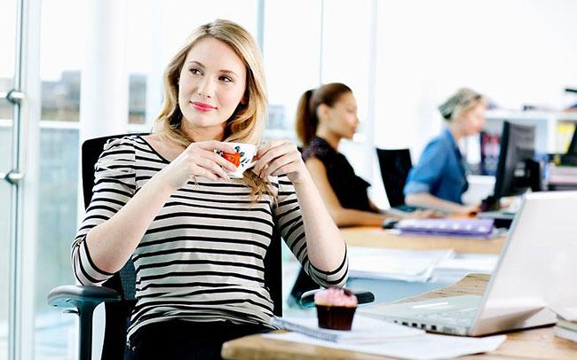 Làm việc văn phòng có nguy cơ béo bụng cao