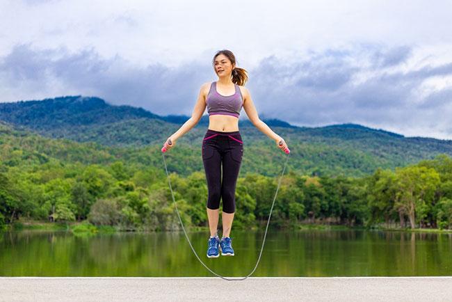 Nhảy dây giúp giảm cân hiệu quả