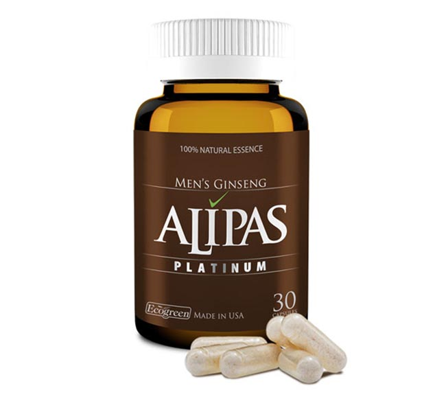 Sâm Alipas - Hỗ trợ điều trị xuất tinh sớm.