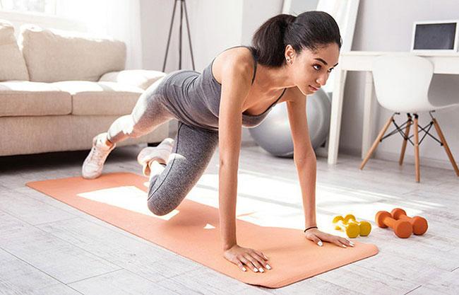 Tập luyện thể thao giúp tiêu hao lượng mỡ thừa