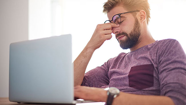 Căng thẳng, stress làm suy giảm chức năng sinh lý nam giới