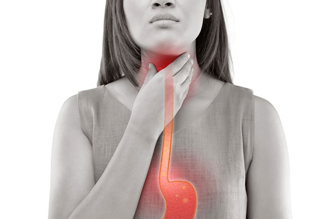 Ợ chua, buồn nôn, nuốt nghẹn biểu hiện khi dạ dày giảm co bóp một biến chứng tiêu hóa thường gặp khi bị đái tháo đường