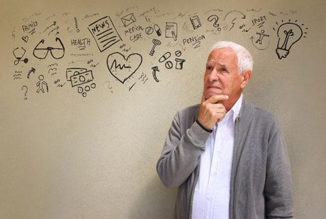 Tuổi già và những vấn đề về sức khỏe