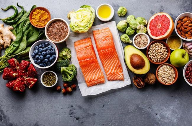 Chế độ dinh dưỡng ảnh hưởng rất nhiều tới chức năng sinh lý