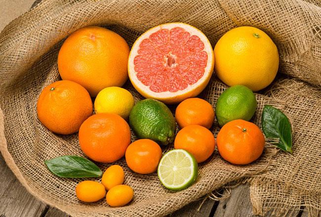 Các loại hoa quả có múi