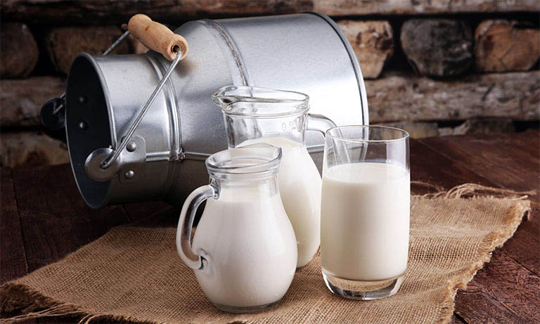 Bị bệnh gut uống được sữa không?