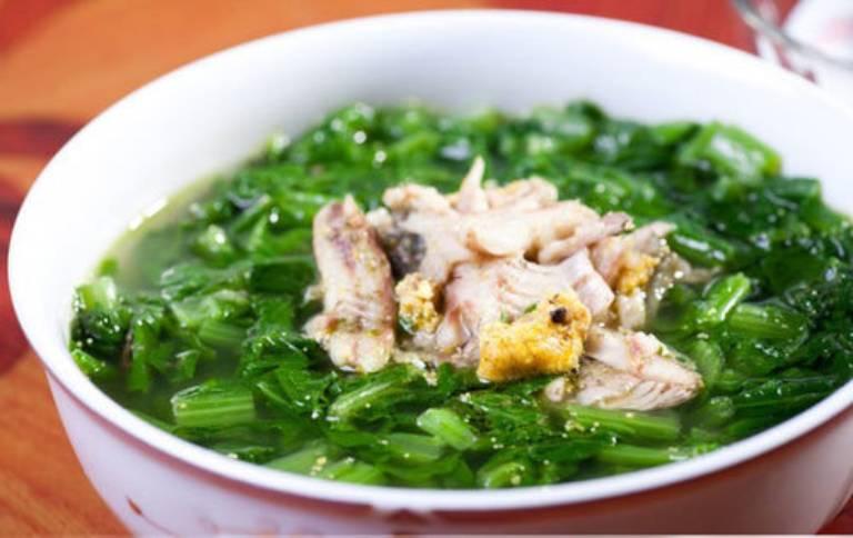 Món ăn tốt cho người mắc bệnh gout