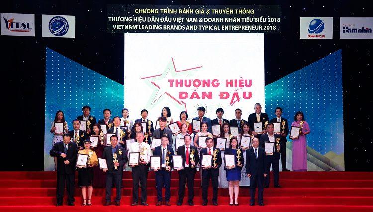 Công ty CP Dược liệu Phương Đông tham dự lễ vinh danh thương hiệu dẫn đầu Việt Nam 2018